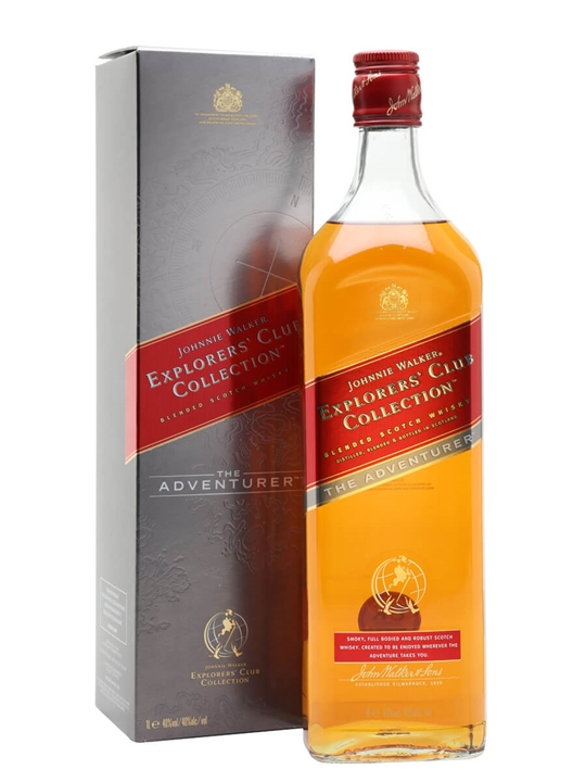 Johnnie Walker Adventurer / Explorer's Club Collection Blended Whisky