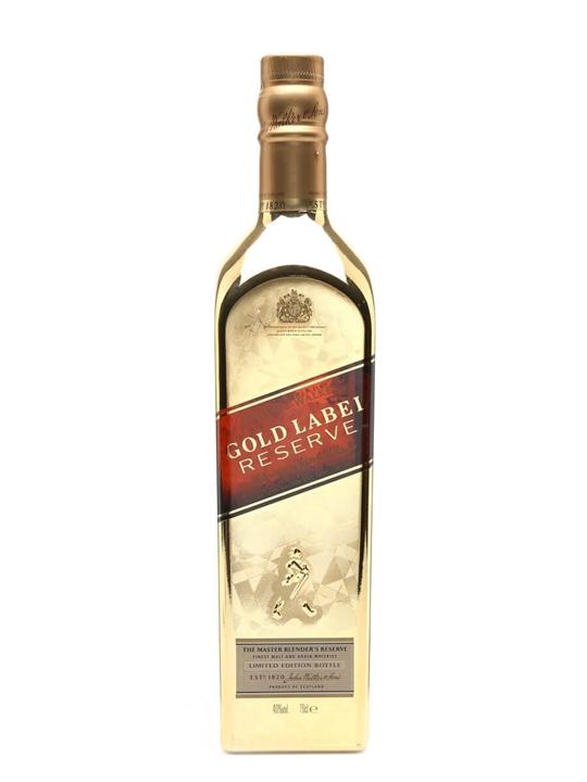 Johnnie Walker Gold Label Reserve / Golden Bottle Blended Whisky