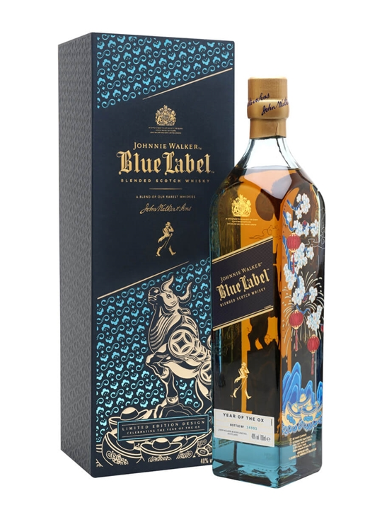Johnnie Walker Blue Year Of The Ox Blended Scotch Whisky