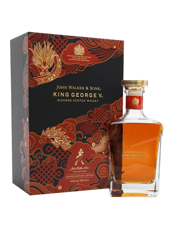 Johnnie Walker Blue Label King George V / Chinese New Year 2021 Blended Whisky