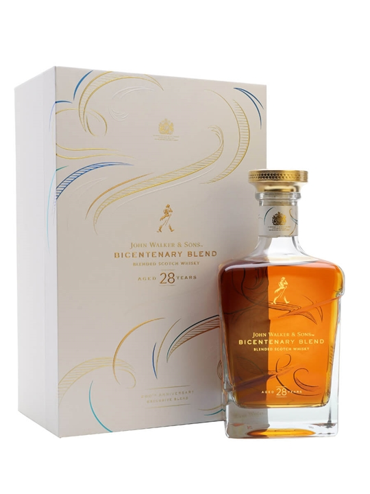 John Walker & Sons Bicentenary Blend / 28 Year Old Blended Whisky