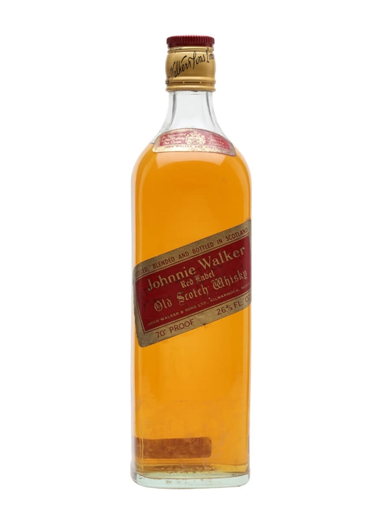 Johnnie Walker Red Label / Bot.1970s Blended Scotch Whisky