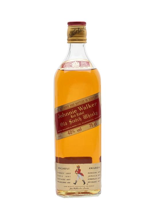 Johnnie Walker Red Label  Bot.1980s Blended Scotch Whisky