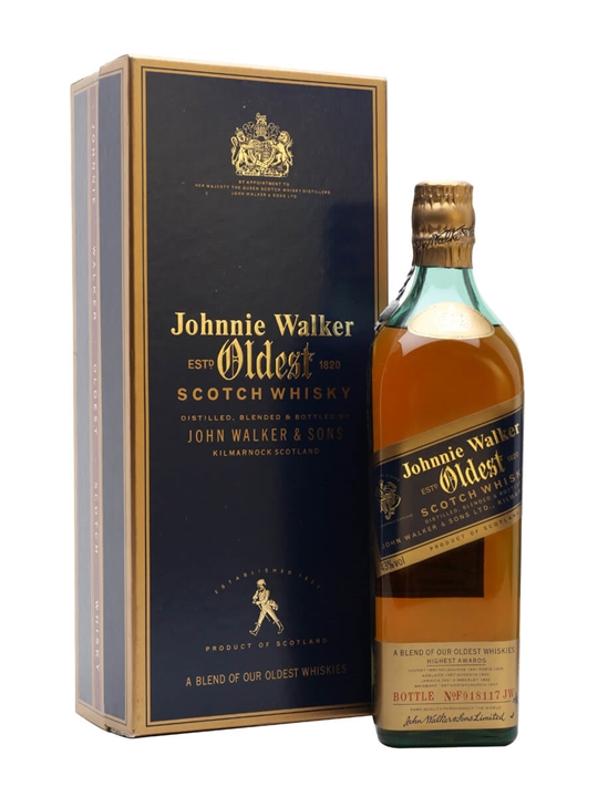 Johnnie Walker Oldest Blended Scotch Whisky