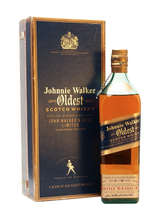 John Walker's Oldest (15 Year Old-60 Year Old) Blended Scotch Whisky