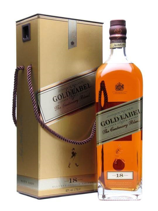 Johnnie Walker Gold Label 18 Year Old  Large Bottle Blended Whisky