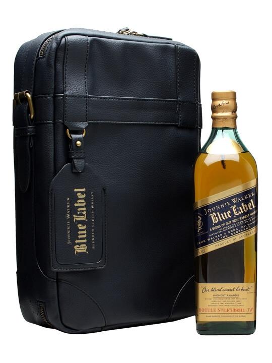 Johnnie Walker Blue  Greg Norman Golf Shoe Bag Blended Scotch Whisky