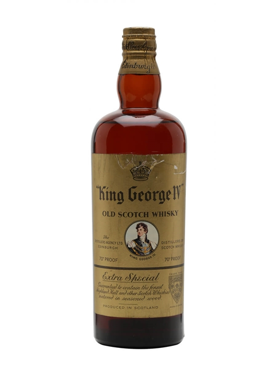 King George IV / Spring Cap / Bot.1950s Blended Scotch Whisky