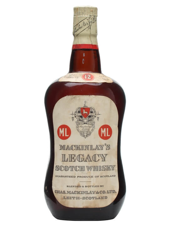 Mackinlay's Legacy 12 Year Old / Bot.1960s Blended Scotch Whisky