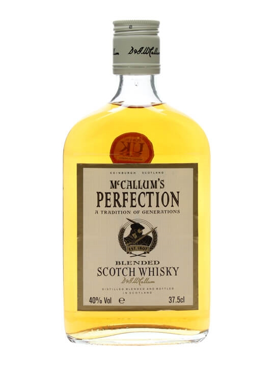 Mccallum's Perfection / Half Bottle Blended Scotch Whisky