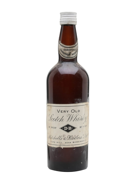 Mitchells & Butlers Very Old / Bot.1950s Blended Scotch Whisky