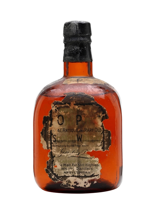 Old Parr / Bot.1920s Blended Scotch Whisky