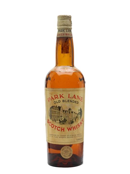 Park Lane Old Scotch Whisky / Bot.1960s Blended Scotch Whisky