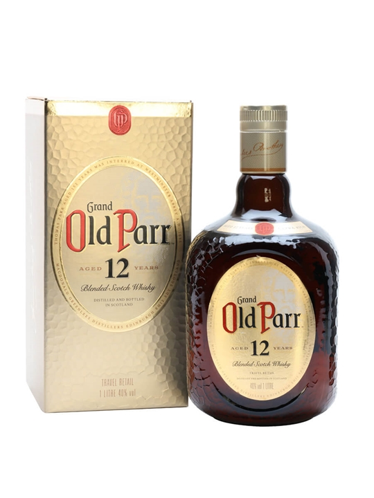 Old Parr 12 Year Old / Litre Blended Scotch Whisky