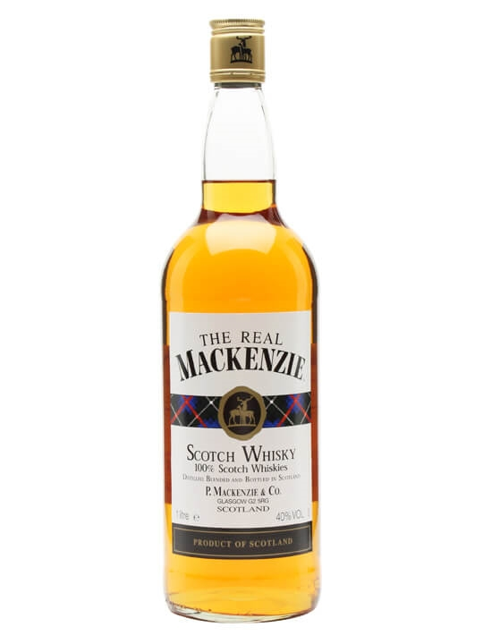 The Real Mackenzie Whisky  Litre Blended Scotch Whisky