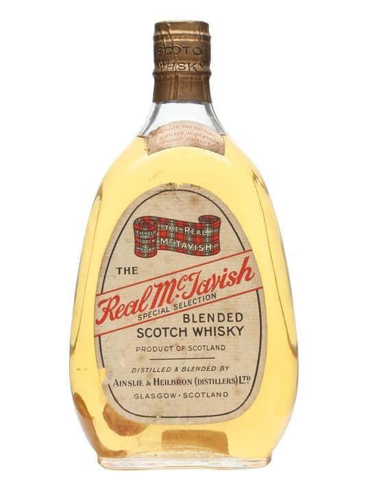 The Real Mctavish / Spring Cap / Bot.1960s Blended Scotch Whisky