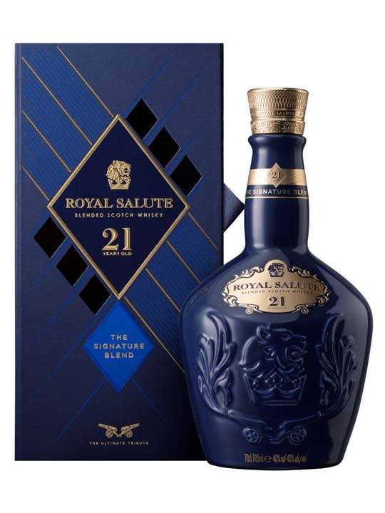 Royal Salute 21 Year Old Signature Blend Blended Scotch Whisky