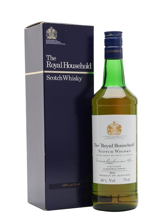 The Royal Household / Bot.1980s Blended Scotch Whisky