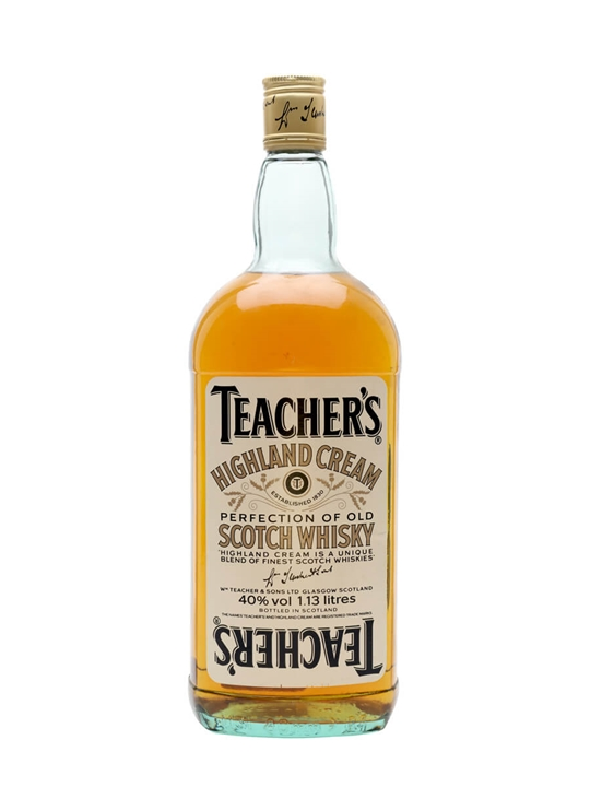 Teacher's Highland Cream / Bot.1980s / Imperial Quart Blended Whisky