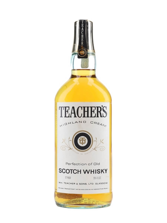 Teachers  Bot.1970s Blended Scotch Whisky
