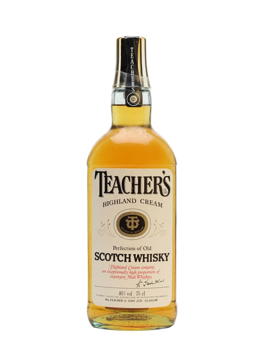 Teachers Highland Cream  Bot.1980s Blended Scotch Whisky