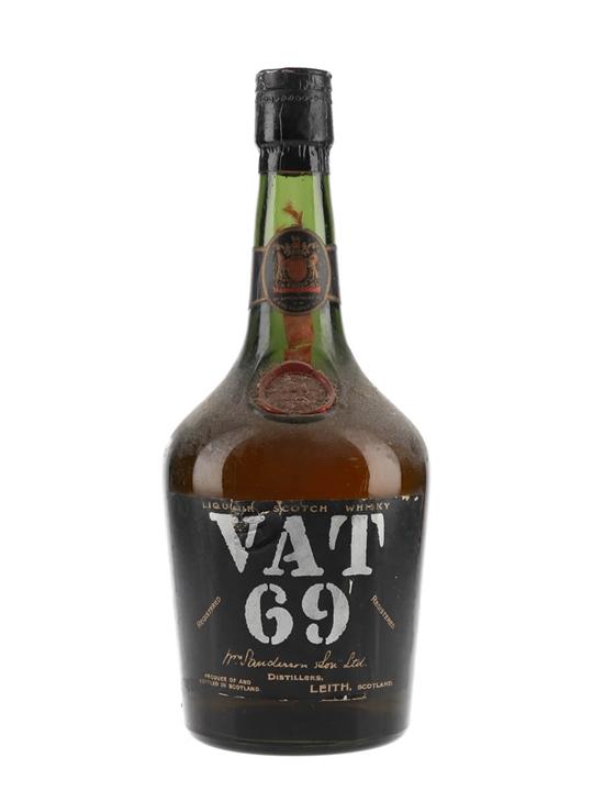 Vat 69 / Bot.1950s Blended Scotch Whisky