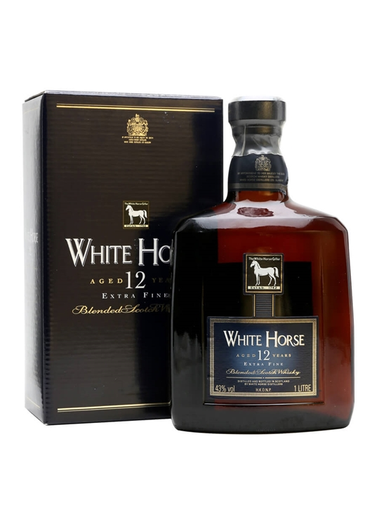 White Horse 12 Year Old / Extra Fine Blended Scotch Whisky