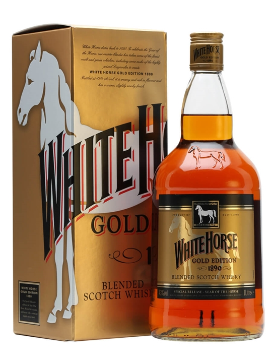 White Horse Gold Edition 1890 / Litre Blended Scotch Whisky
