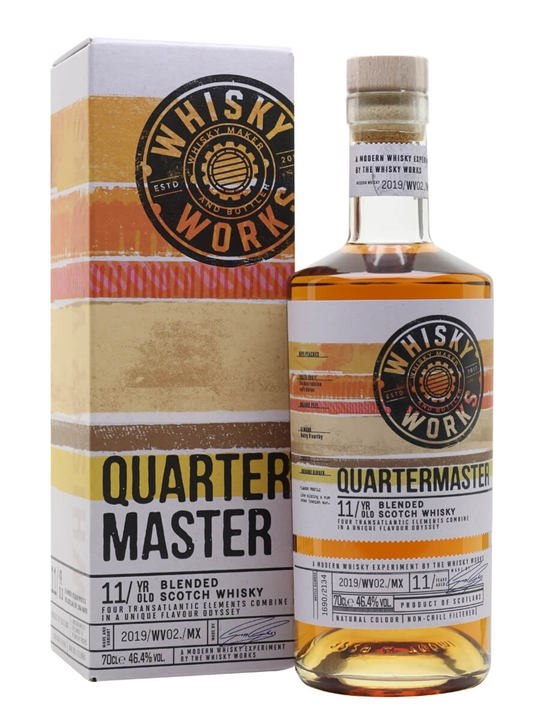 Quartermaster 11 Year Old / Whisky Works Blended Scotch Whisky