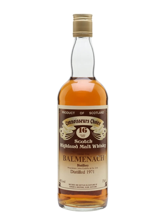 Balmenach 1971 / 16 Year Old / Connoisseurs Choice Speyside Whisky