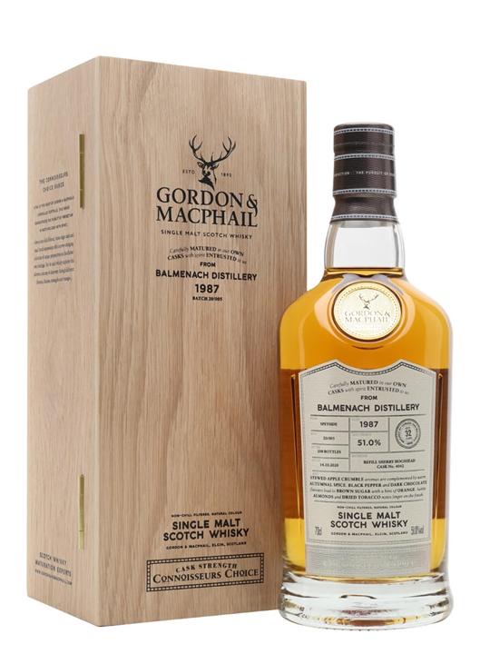 Balmenach 1987 / 32 Year Old / Connoisseurs Choice Speyside Whisky