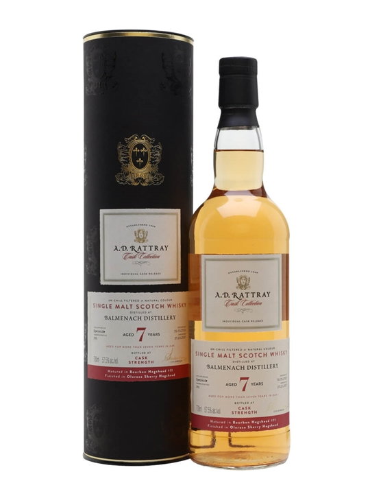 Balmenach 2010 / 7 Year Old / Ad Rattray Speyside Whisky