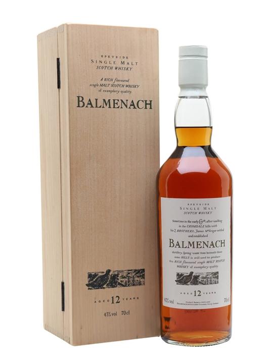 Balmenach 12 Year Old Speyside Single Malt Scotch Whisky