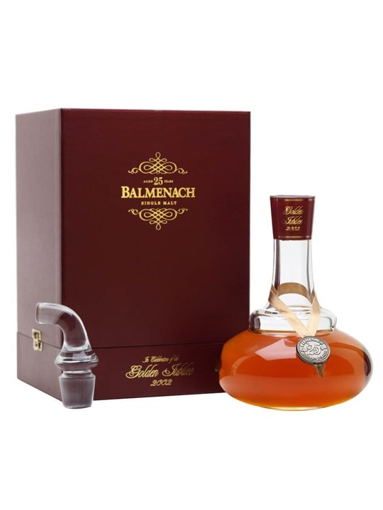 Balmenach 25 Year Old / Golden Jubilee Decanter Speyside Whisky