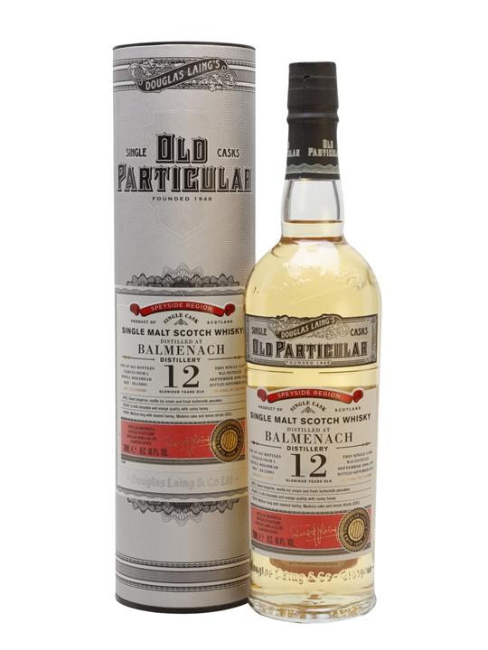 Balmenach 2006 / 12 Year Old / Old Particular Speyside Whisky