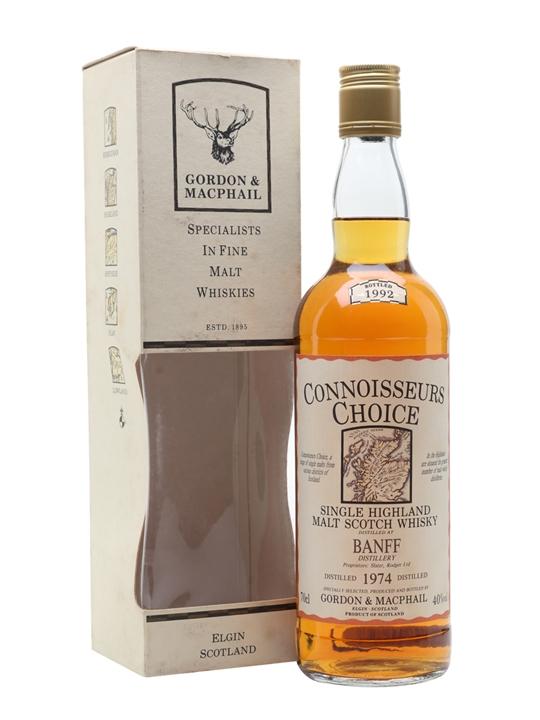 Banff 1974 / Bot.1992 / Connoisseurs Choice Highland Whisky
