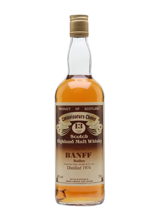 Banff 1974 / 13 Year Old / Connoisseurs Choice Highland Whisky