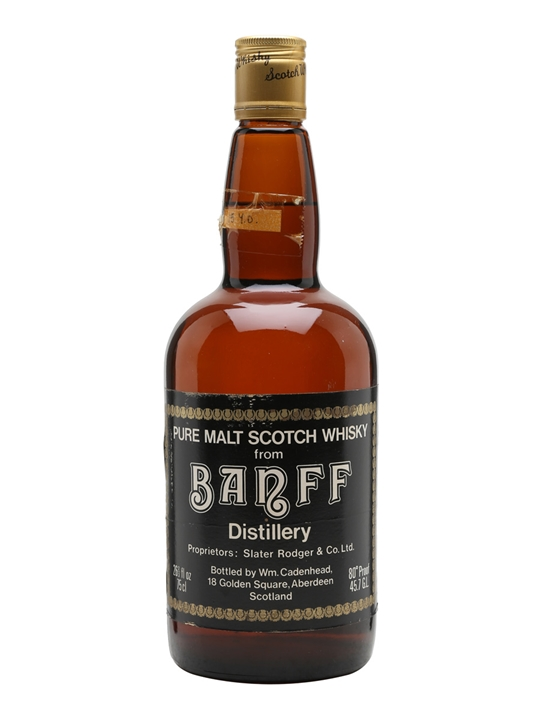 Banff 1964 / 15 Year Old / Cadenhead's Highland Whisky