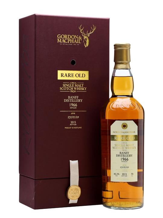Banff 1966 / 49 Year Old / Rare Old / Gordon & MacPhail Highland Whisky
