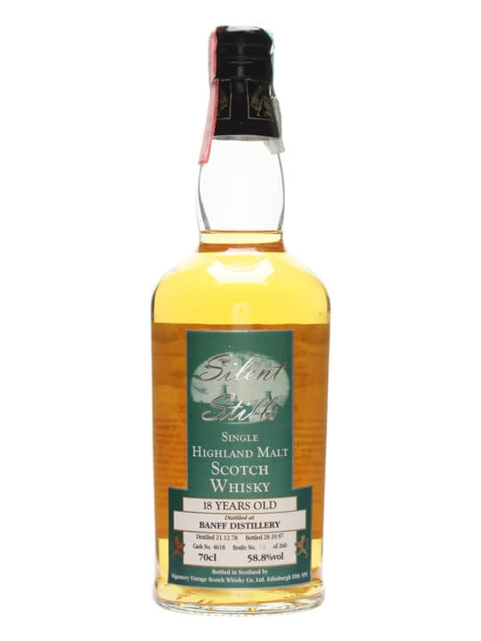 Banff 1978 / 18 Year Old / Silent Stills Highland Whisky