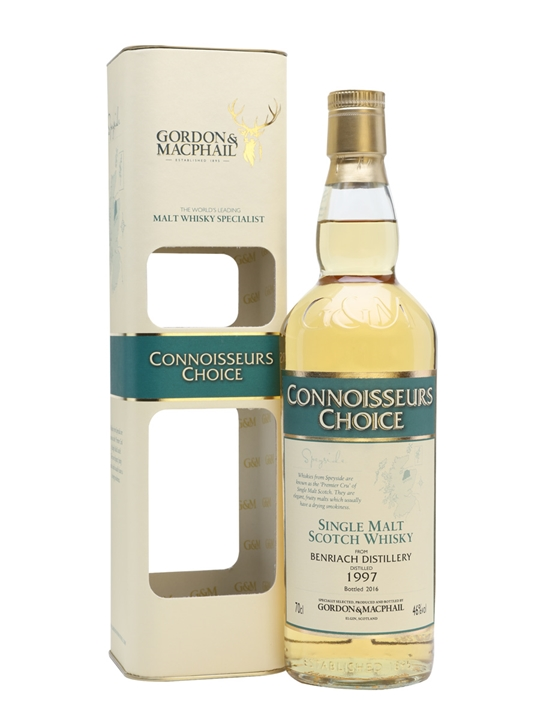 Benriach 1997 / Bot.2016 / Connoisseurs Choice Speyside Whisky