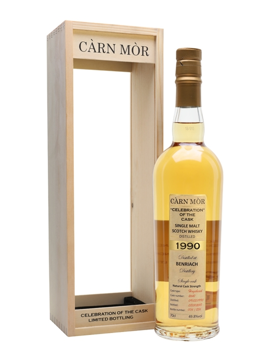 Benriach 1990 27 Year Old / Carn Mor Celebration Of The Cask Speyside Whisky