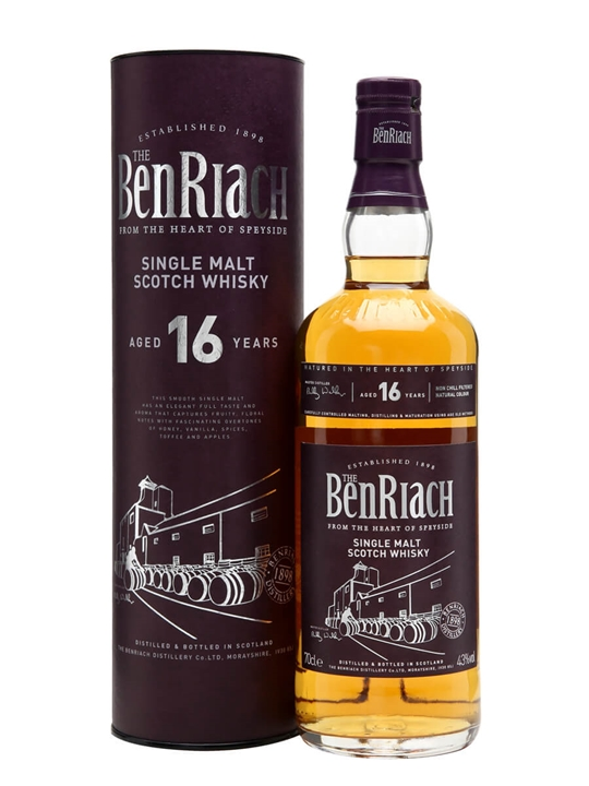 Benriach 16 Year Old Speyside Single Malt Scotch Whisky