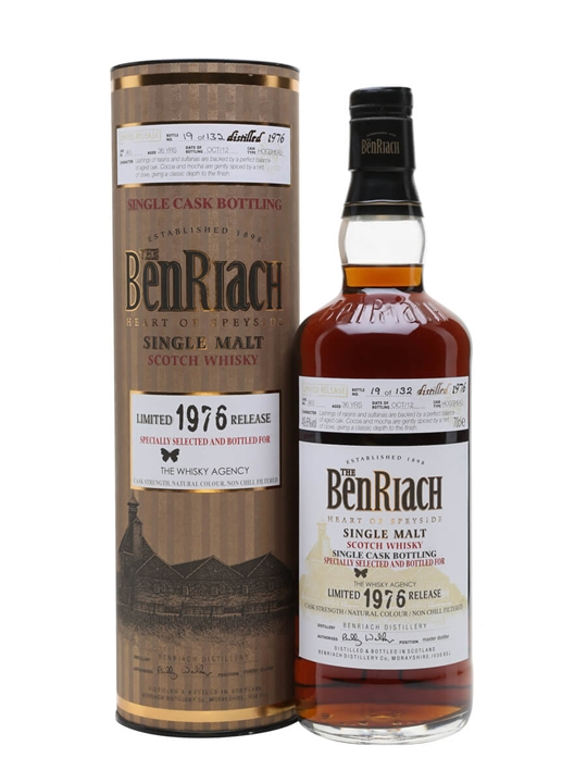 Benriach 1976 / 36 Year Old / Sherry Cask Speyside Whisky