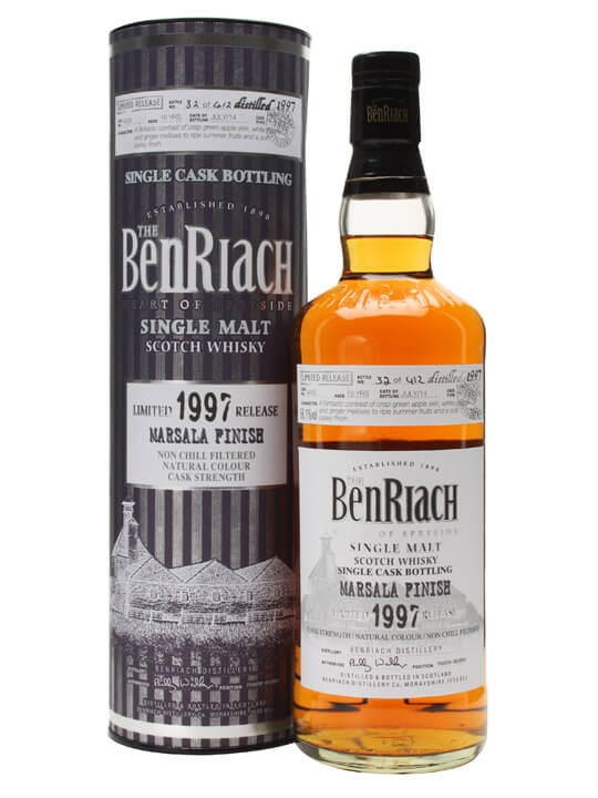 Benriach 1997 / 16 Year Old / Marsala Finish / Cask #4435 Speyside Whisky