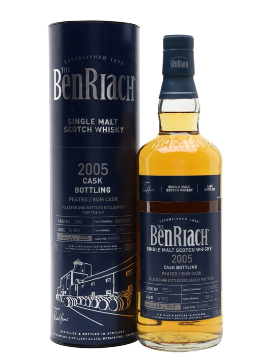Benriach 2005 / 14 Year Old / Rum Cask Speyside Whisky