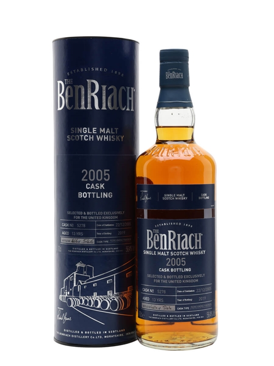 Benriach 2005 / 13 Year Old / PX Puncheon Speyside Whisky