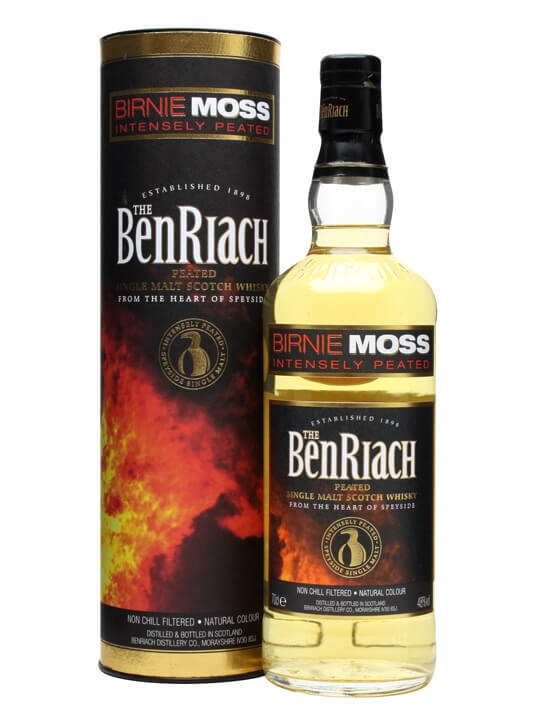 Benriach Birnie Moss Intensely Peated Speyside Whisky