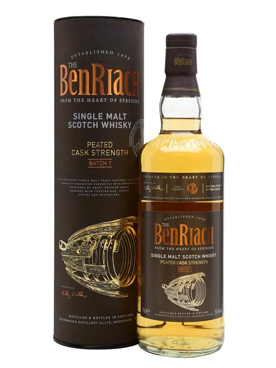 Benriach Peated Cask Strength / Batch 1 Speyside Whisky
