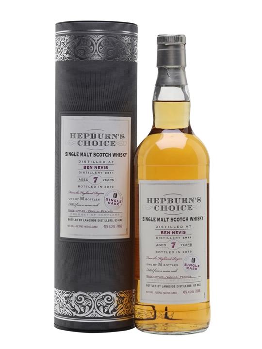 Ben Nevis 2011 / 7 Year Old / Hepburns Choice Highland Whisky